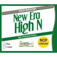 New Era High N pelletised fertiliser