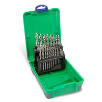 Drill Set - 21 Piece HSS Bright Finish in ABS Plastic Case - Bordo